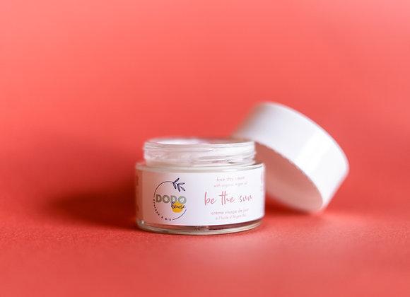 """Be the Sun"" day cream with organic argan oil"