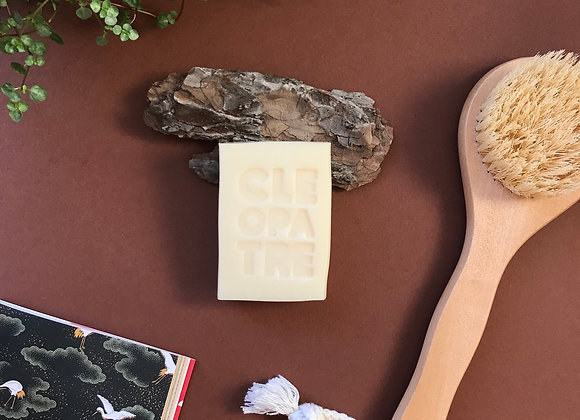 CLÉOPÂTRE soap with organic donkey milk