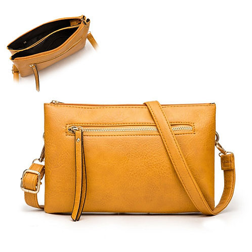 Ashley Cross Body Bag Mustard