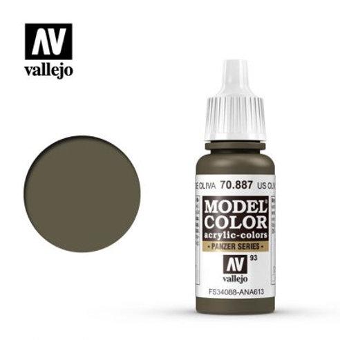 Vallejo Model - US Olive Drab 70.887