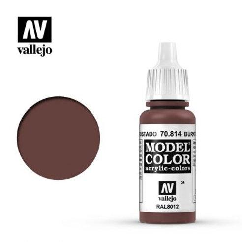 Vallejo Model - Burnt Red 70.814