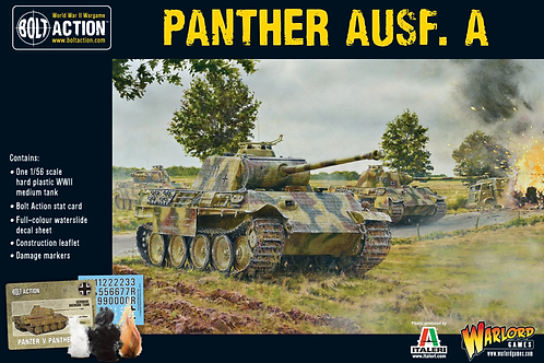 Bolt Action - German Panther Ausf A