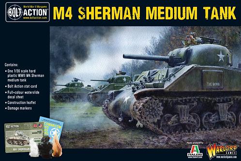 Bolt Action - US Sherman M4 Medium Tank