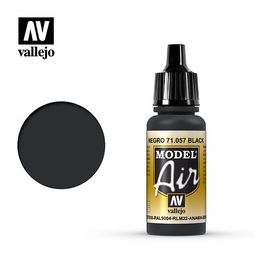 Vallejo Model Air - Black 71.057