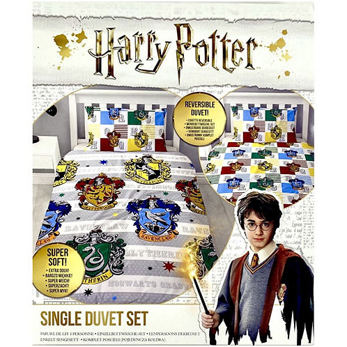 Harry Potter Single Duvet Set