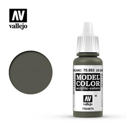 Vallejo Model - US Dark Green 70.893