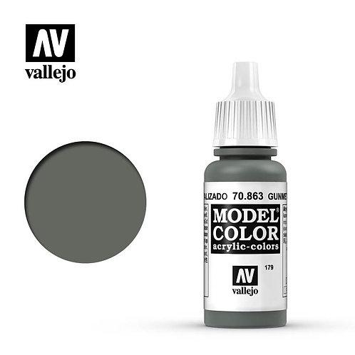 Vallejo Model - Gunmetal Grey 70.863