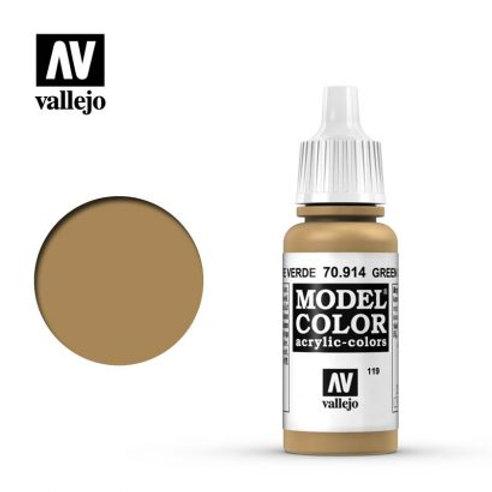 Vallejo Model - Green Ochre 70.914