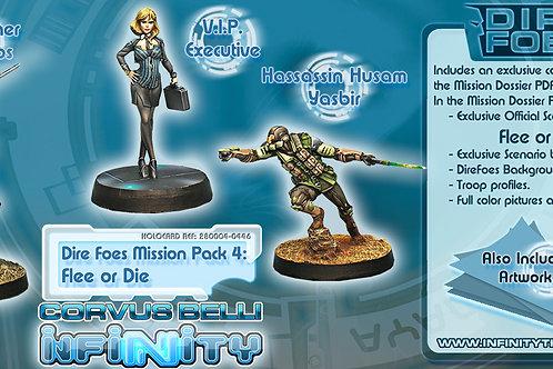 Infinity - Dire Foes Mission Pack 4 - Flee or Die