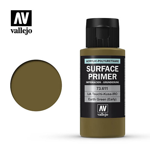 Vallejo Surface Primer - Earth Green 73.611