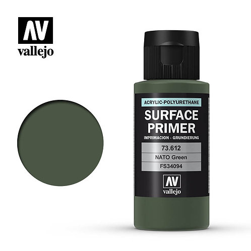 Vallejo Surface Primer - Nato Green 73.612