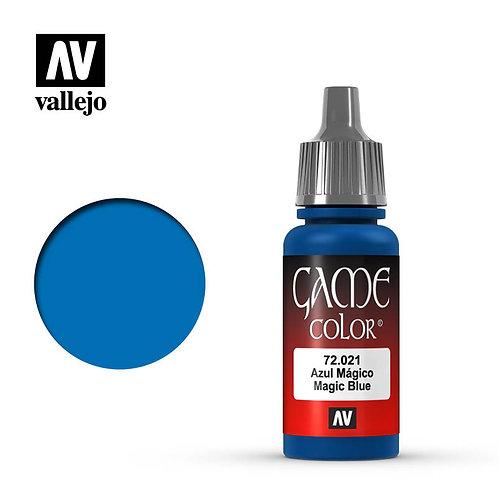 Vallejo Game - Magic Blue 72.021