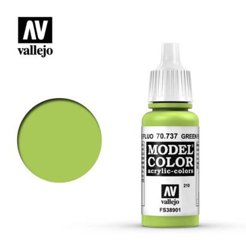 Vallejo Model - Green Fluorescent 70.737