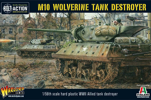 Bolt Action - US M10 Tank Destroyer/Wolverine With 5 Paints and 1 Brush