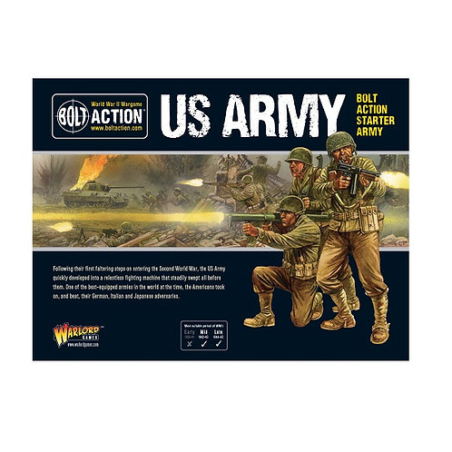 Bolt Action - US Army Starter Army