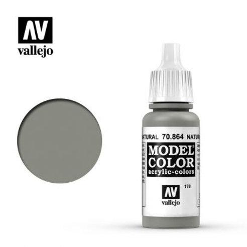 Vallejo Model - Natural Steel 70.864