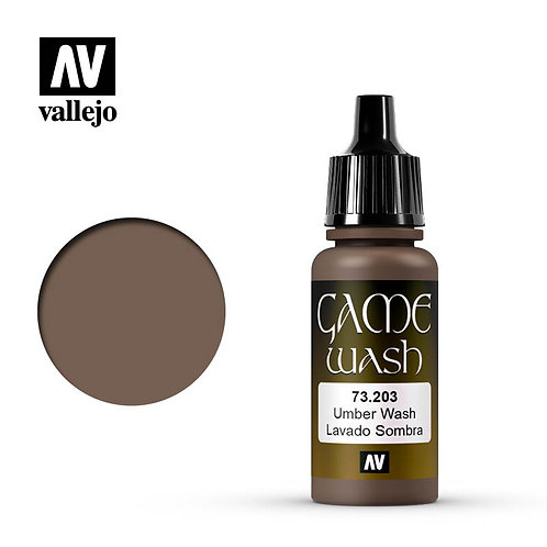 Vallejo Game Wash - Umber 73.203