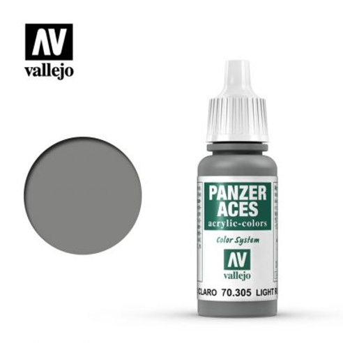 Vallejo Panzer Aces - Light Rubber 70.305