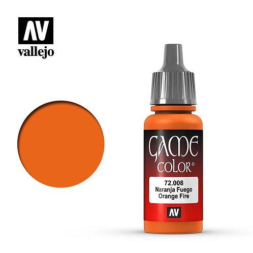 Vallejo Game - Orange Fire 72.008