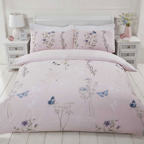 Laura Pink - The Home Duvet Set
