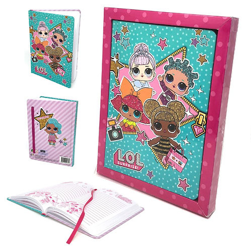 Official LOL Surprise Gift Boxed Note Book/Organiser