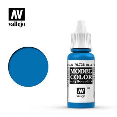Vallejo Model - Blue Fluorescent 70.736