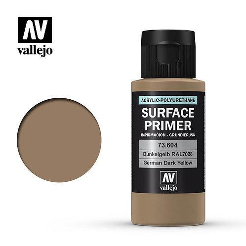 Vallejo Surface Primer - German Dark Yellow 73.604