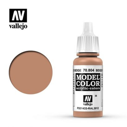 Vallejo Model - Beige Red 70.804
