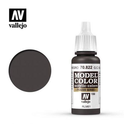 Vallejo Model - German Camouflage Black Brown 70.822