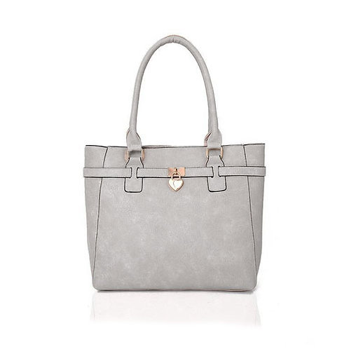 Janice Tote Bag Grey