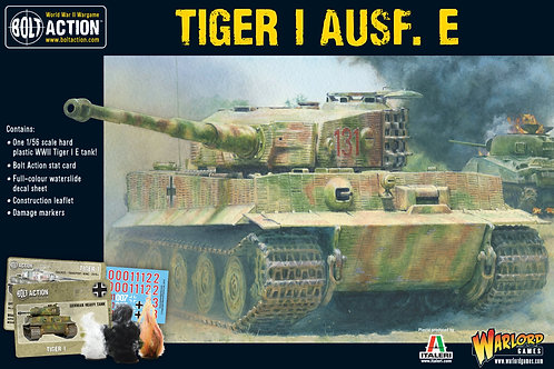 Bolt Action - German Tiger I Ausf. E