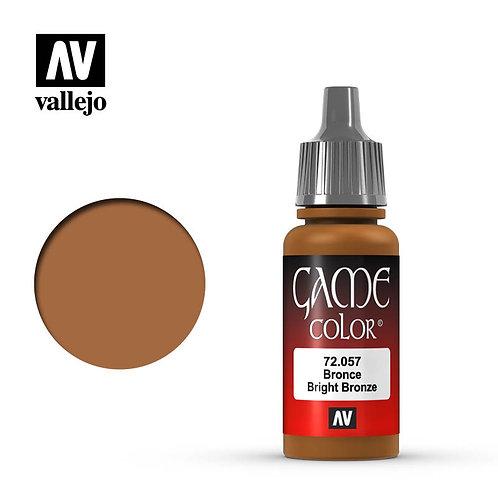 Vallejo Game - Bright Bronze 72.057