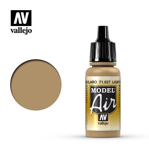 Vallejo Model Air - Light Brown 71.027