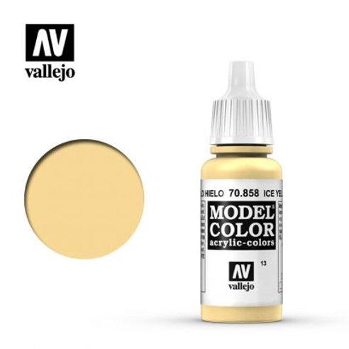 Vallejo Model - Ice Yellow 70.858