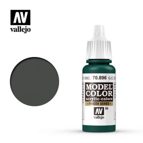 Vallejo Model - German Camouflage Extra Dark Green 70.896