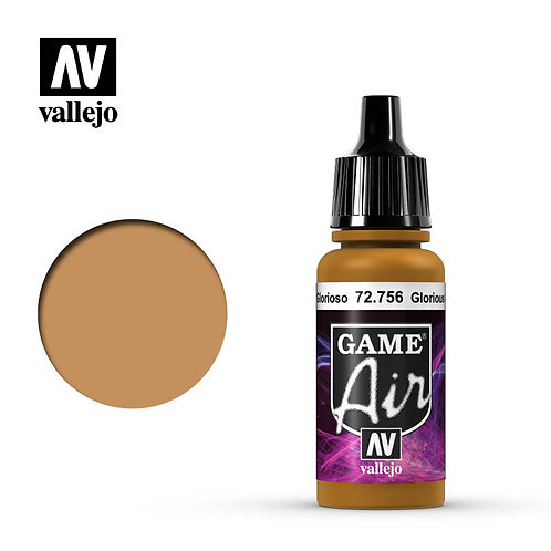 Vallejo Game Air - Glorious Gold 72.756