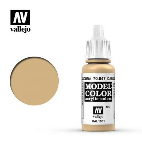 Vallejo Model - Dark Sand 70.847