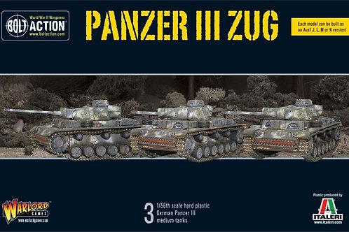 Bolt Action - Panzer III Zug