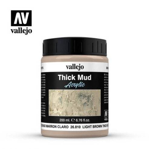 Vallejo Effects - Light Brown Thick Mud 26.810