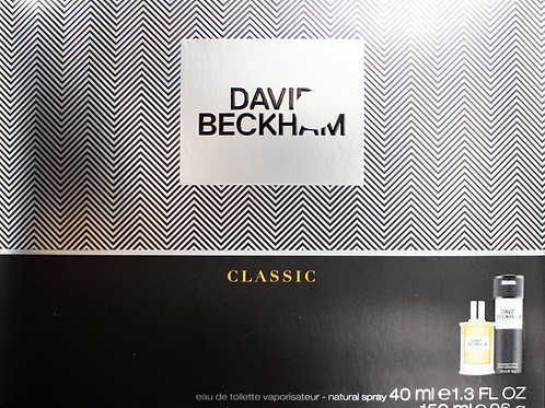 David Beckham Classic Gift Set