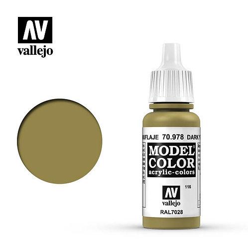 Vallejo Model - Dark Yellow 70.978