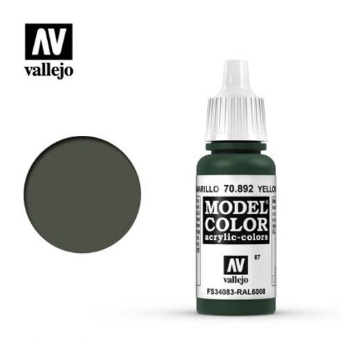 Vallejo Model - Yellow Olive 70.892