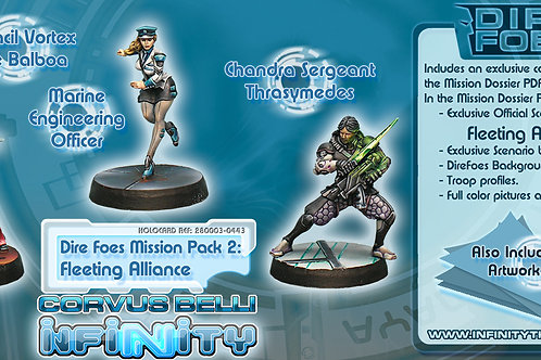 Infinity - Dire Foes Mission Pack 2 - Fleeting Alliance