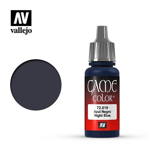 Vallejo Game - Night Blue 72.019