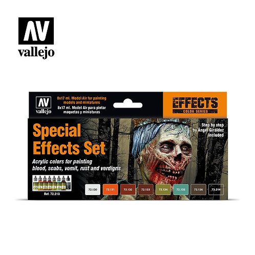Vallejo - Special Effects Set - 72.213