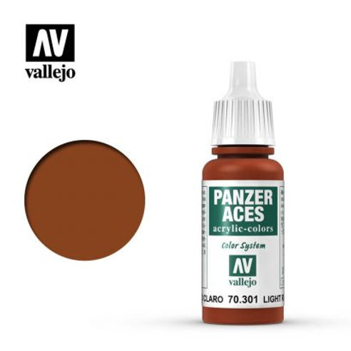 Vallejo Panzer Aces - Light Rust 70.301