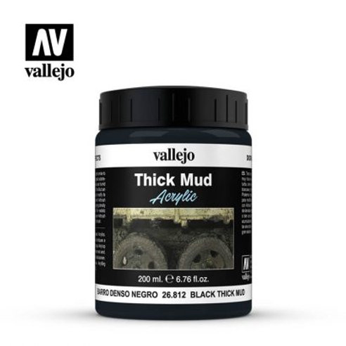 Vallejo Effects - Black Thick Mud 26.812