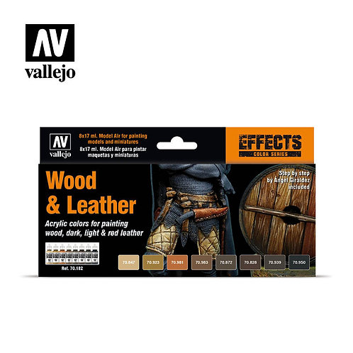 Vallejo - Wood & Leather Set - 70.183