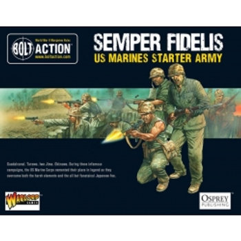 Bolt Action - US Marines Starter Army