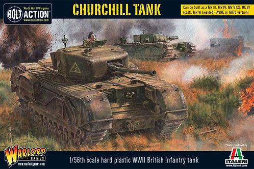Bolt Action - British Churchill Tank
